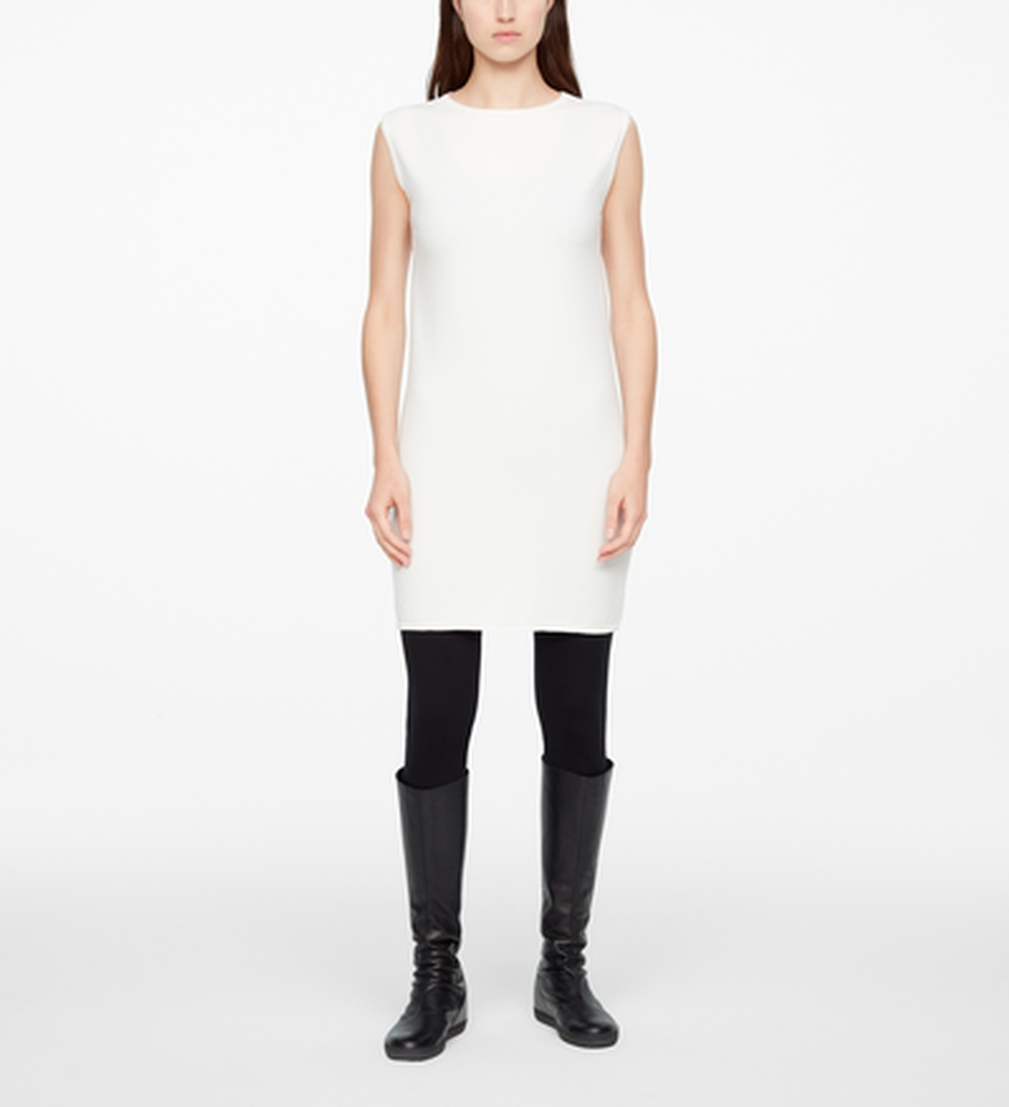 Sarah Pacini LIGHT DRESS - SLEEVELESS Front
