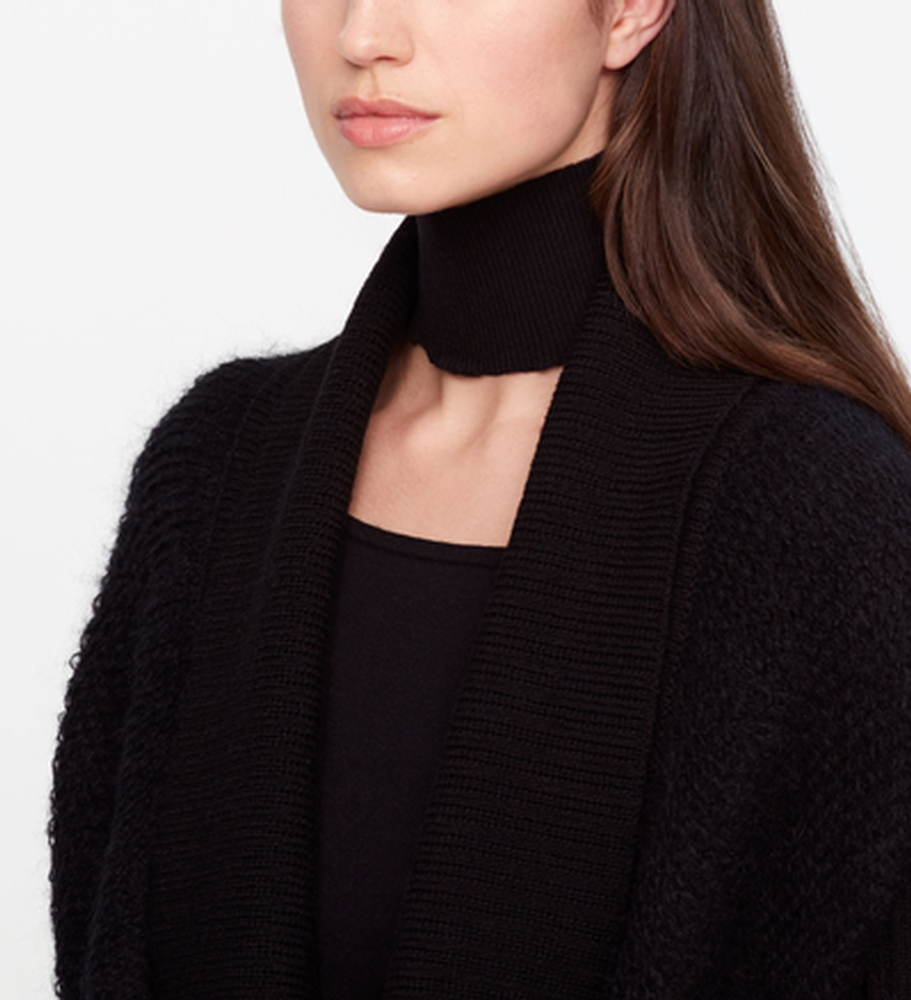 Sarah Pacini LIGHT WOOL COLLAR Front