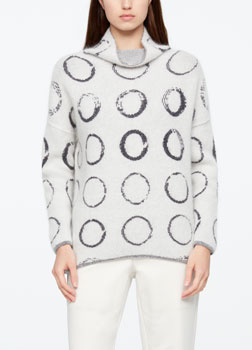 Sarah Pacini PULL LONG - CERCLES De face