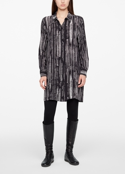 Sarah Pacini DRESS - CITY LIGHTS Front