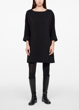 Sarah Pacini A-LINE DRESS - CREPE Front