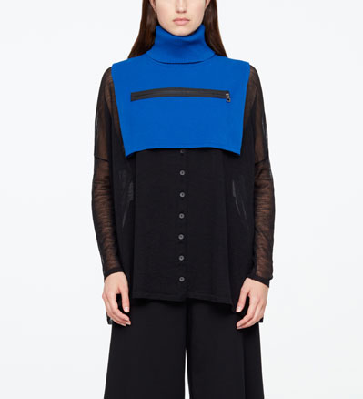 Sarah Pacini DICKEY - FERMOIR ZIP De face