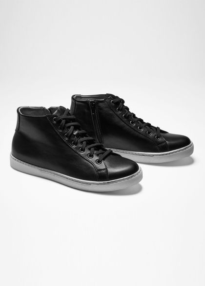Sarah Pacini LEATHER HIGH TOPS
