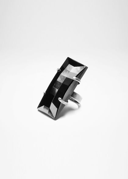 Sarah Pacini BLACK MIRROR RING