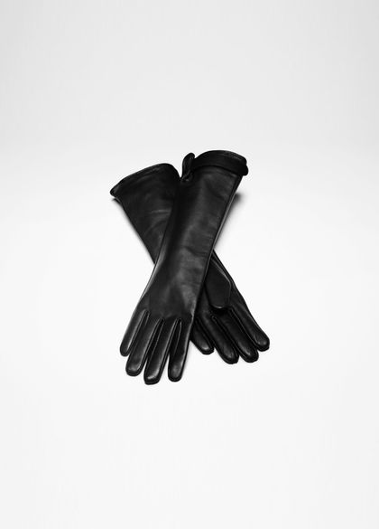 Sarah Pacini LONG LEATHER GLOVES