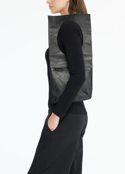 Sarah Pacini LEATHER SHOULDER BAG - SHOULDER