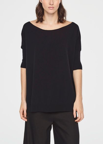 Sarah Pacini SUMMER SWEATER WITH SLITS