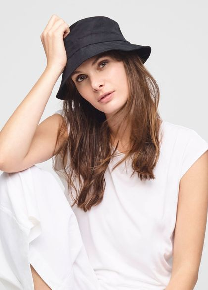 Sarah Pacini STRETCH - LINEN BUCKET HAT