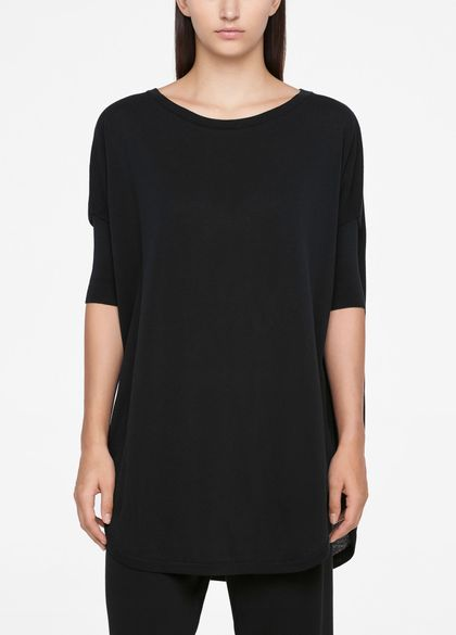 Sarah Pacini URBAN SWEATER - HALF SLEEVES