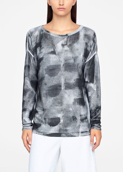 Sarah Pacini TIE-DYE SWEATER - RIBBED