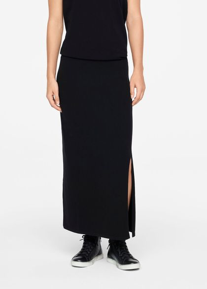 Sarah Pacini MAXI SKIRT - SIDE SLIT
