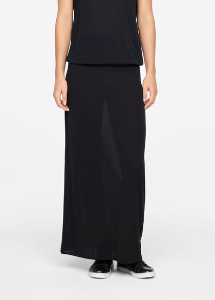 Sarah Pacini MAXI SKIRT - MAKO COTTON