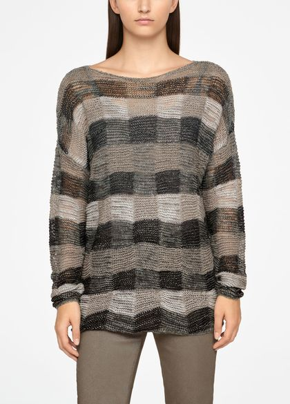 Sarah Pacini PULL LONG - CARREAUX