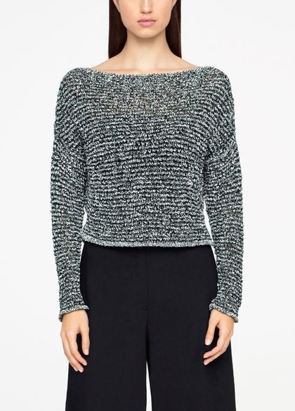 Sarah Pacini CHINÉ SWEATER - CROPPED