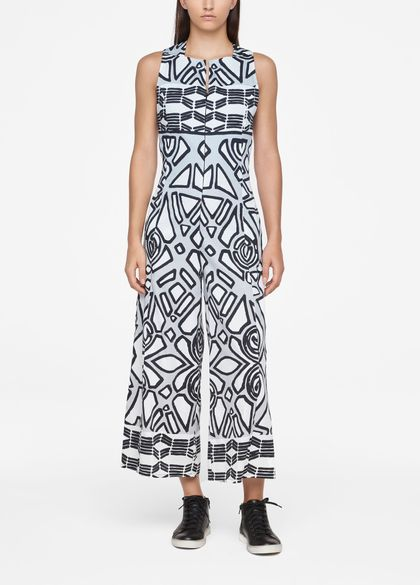 Sarah Pacini GRAPHIC JUMPSUIT