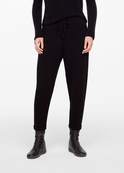 Sarah Pacini LIGHT CASUAL PANTS - CUFFS