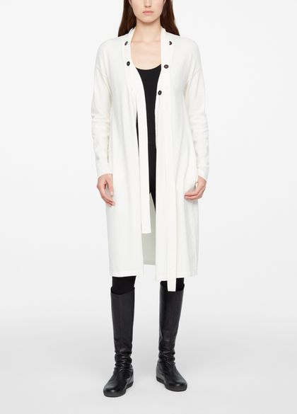 Sarah Pacini CARDIGAN - DETACHABLE STRAP