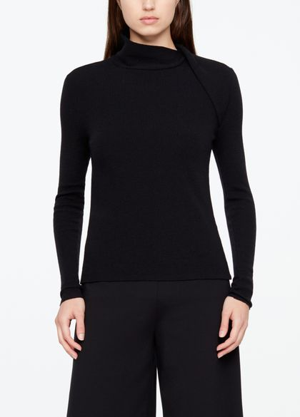 Sarah Pacini WOLLPULLOVER - SCHULTERPANEL