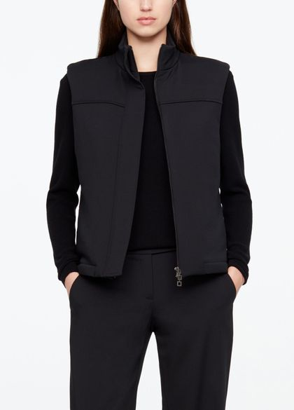 Sarah Pacini WOOL COAT - SLEEVELESS