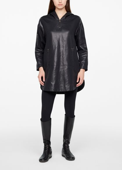 Sarah Pacini DRESS - LEATHER SHEEN