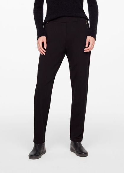 Sarah Pacini TAPERED PANTS - JERSEY
