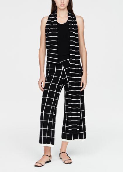 Sarah Pacini Gaucho broek - sjaal