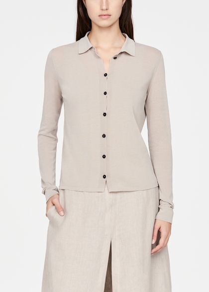 Sarah Pacini Mako cotton shirt
