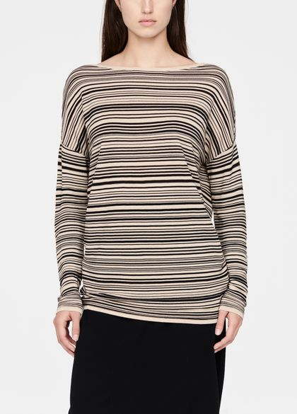 Sarah Pacini Light sweater - stripes