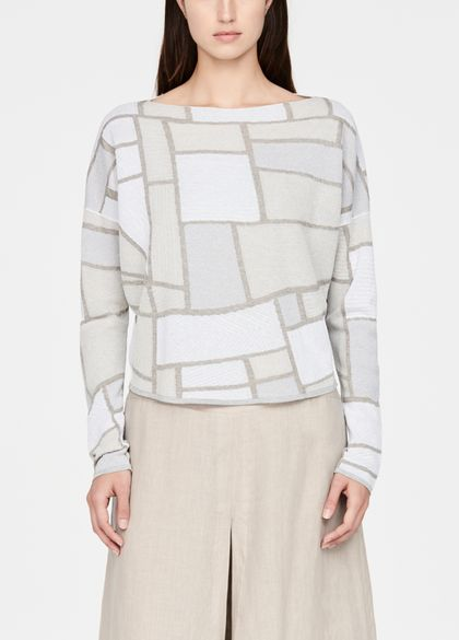 Sarah Pacini Short sweater - landscape
