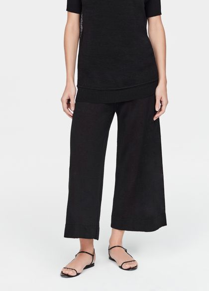 Sarah Pacini Pantalon en lin - ultraléger