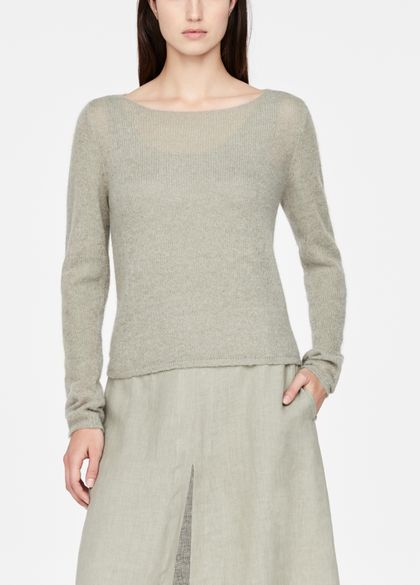 Sarah Pacini Mohair-alpaca sweater