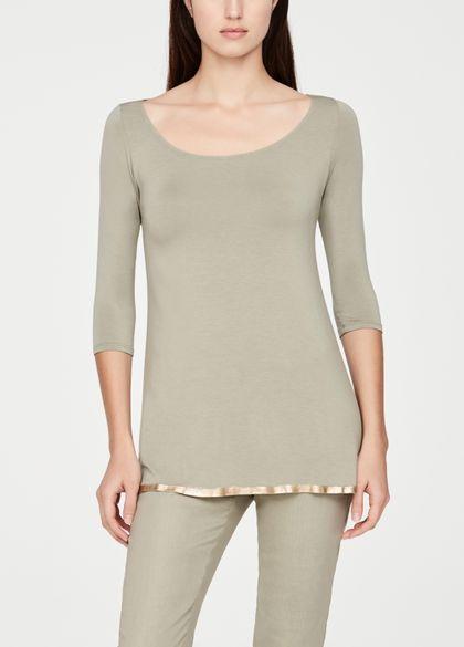 Sarah Pacini Modal top - ¾ sleeves