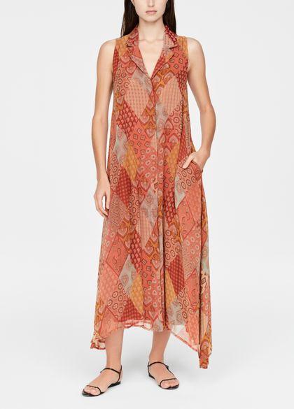 Sarah Pacini maxi jurk - patchwork