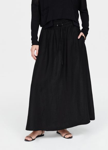 Sarah Pacini linnen rok - los