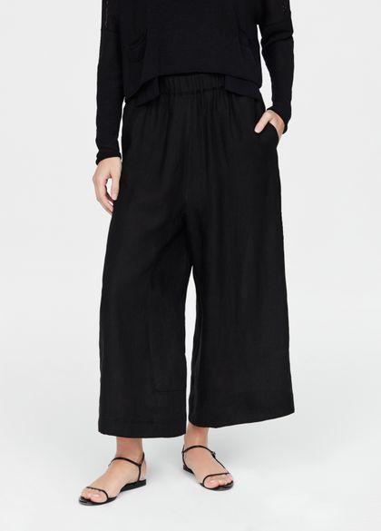 Sarah Pacini linnen broek - palazzo