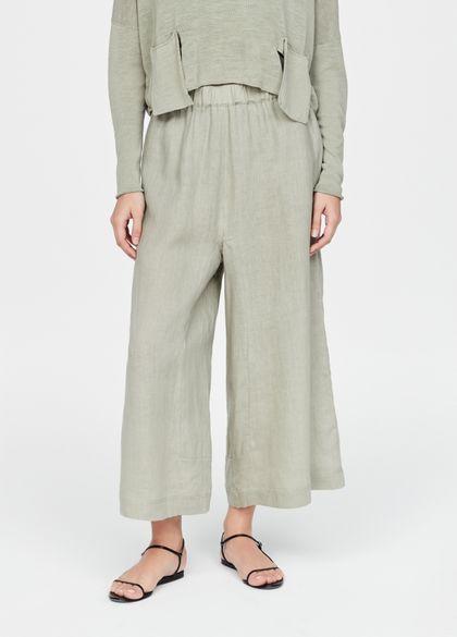Sarah Pacini Linen pants - palazzo