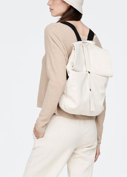 Sarah Pacini Cotton backpack