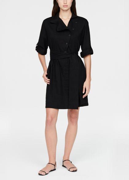 Sarah Pacini Robe-chemise en lin