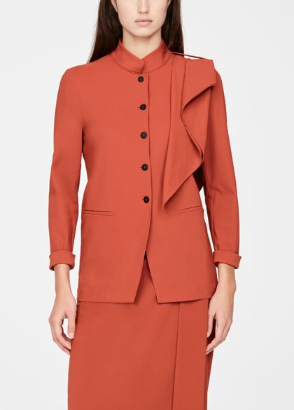 Sarah Pacini Light jacket - mandarin collar