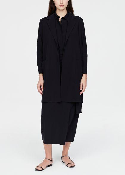 Sarah Pacini Long jacket - notched lapel