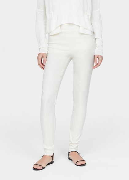 Sarah Pacini Legging en lin stretch