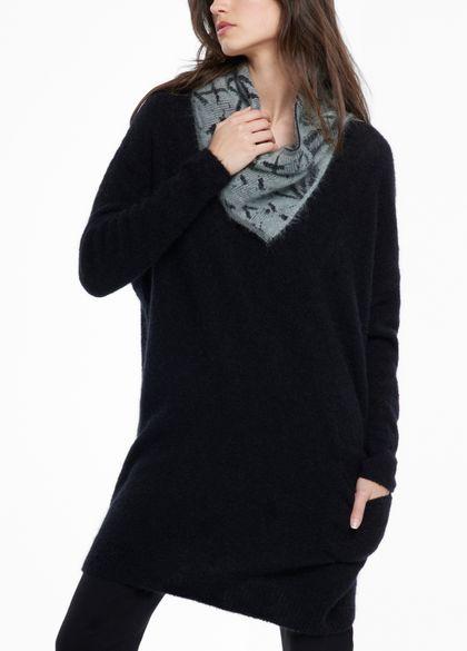 Sarah Pacini Col ample - fente