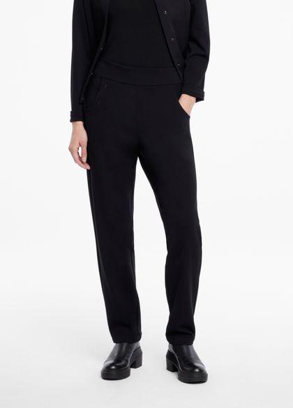 Sarah Pacini Pantalon jersey - taille élastique
