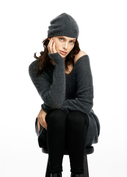 Sarah Pacini Bonnet - mohair-mérinos