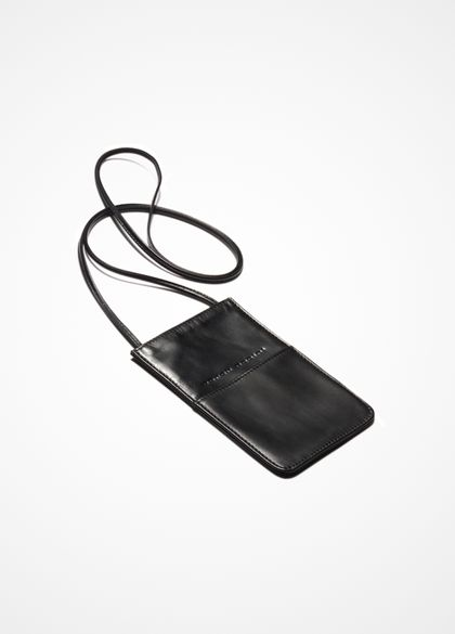 Sarah Pacini Neck leather pouch