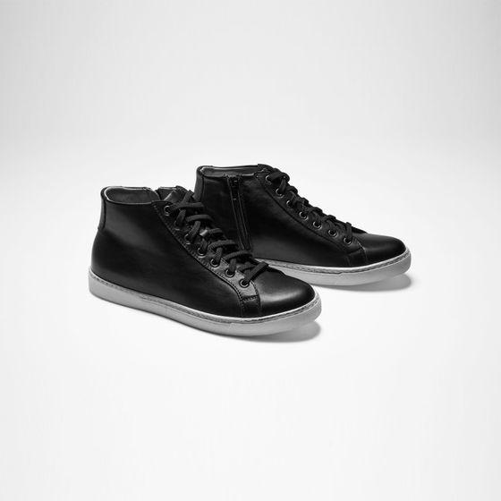 Sarah Pacini Lederen schoenen met hoge tip
