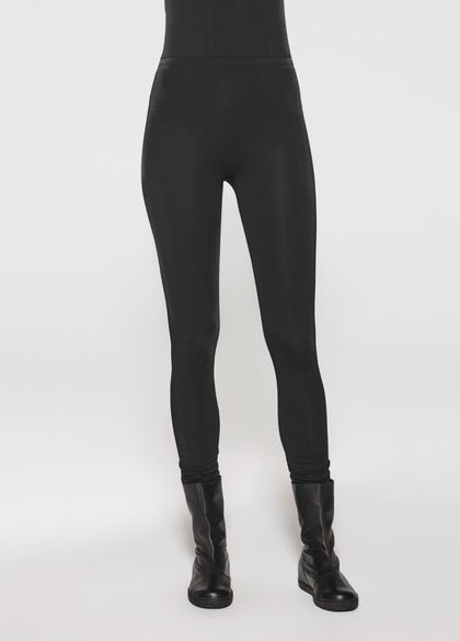 Sarah Pacini Long cotton leggings
