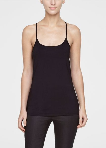 Sarah Pacini Sleeveless top