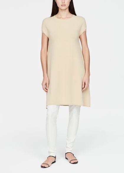 Sarah Pacini Robe tunique - fente latérale