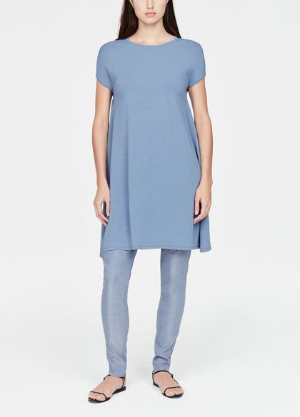 Sarah Pacini Lichte jurk - zijsplit